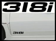 BMW 318i CAR BODY DECALS